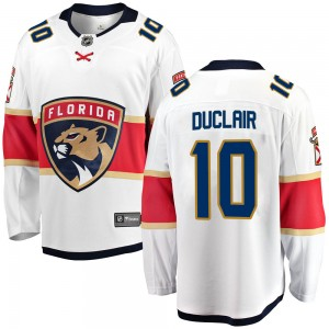Men's Florida Panthers Anthony Duclair Fanatics Branded Breakaway Away Jersey - White