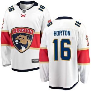 Men's Florida Panthers Nathan Horton Fanatics Branded Breakaway Away Jersey - White