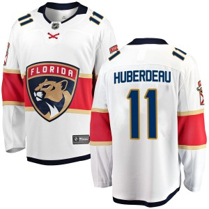 Men's Florida Panthers Jonathan Huberdeau Fanatics Branded Breakaway Away Jersey - White
