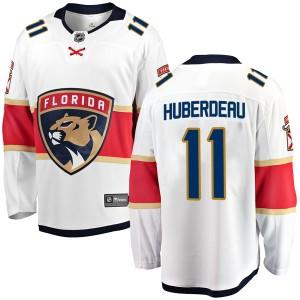Men's Florida Panthers Jonathan Huberdeau Fanatics Branded Breakaway Away Jersey - White