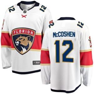 Men's Florida Panthers Ian McCoshen Fanatics Branded Breakaway Away Jersey - White