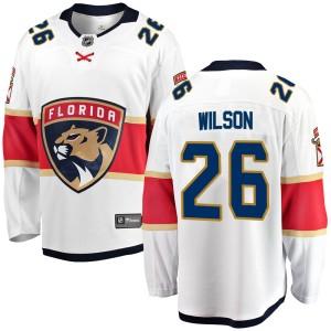 Men's Florida Panthers Scott Wilson Fanatics Branded Breakaway Away Jersey - White