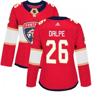 Women's Florida Panthers Zac Dalpe Adidas Authentic Home Jersey - Red