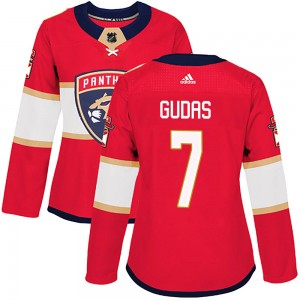 Women's Florida Panthers Radko Gudas Adidas Authentic Home Jersey - Red