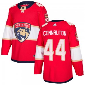 Men's Florida Panthers Kevin Connauton Adidas Authentic Home Jersey - Red