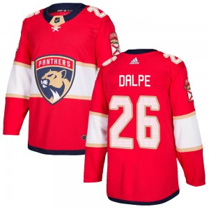 Men's Florida Panthers Zac Dalpe Adidas Authentic Home Jersey - Red