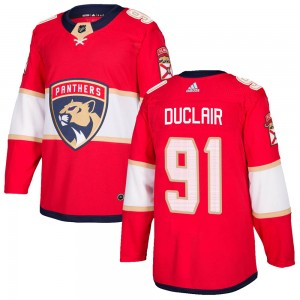 Men's Florida Panthers Anthony Duclair Adidas Authentic Home Jersey - Red
