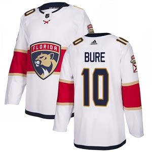 Men's Florida Panthers Pavel Bure Adidas Authentic Away Jersey - White