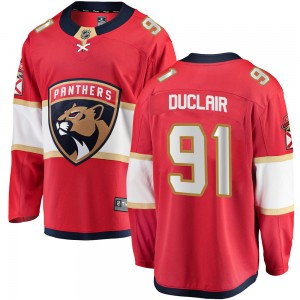 Men's Florida Panthers Anthony Duclair Fanatics Branded Breakaway Home Jersey - Red