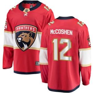 Men's Florida Panthers Ian McCoshen Fanatics Branded Breakaway Home Jersey - Red
