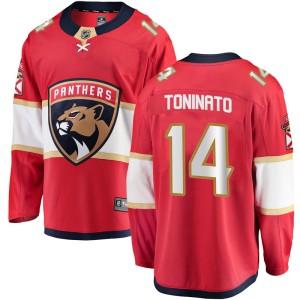 Men's Florida Panthers Dominic Toninato Fanatics Branded Breakaway Home Jersey - Red