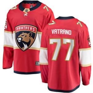 Men's Florida Panthers Frank Vatrano Fanatics Branded Breakaway Home Jersey - Red