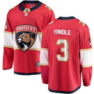 Men's Florida Panthers Keith Yandle Fanatics Branded Breakaway Home Jersey - Red