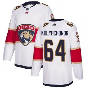Youth Florida Panthers Vladislav Kolyachonok Adidas Authentic Away Jersey - White