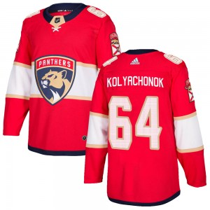 Youth Florida Panthers Vladislav Kolyachonok Adidas Authentic Home Jersey - Red
