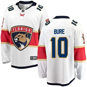 Youth Florida Panthers Pavel Bure Fanatics Branded Breakaway Away Jersey - White