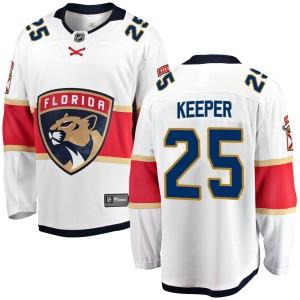Youth Florida Panthers Brady Keeper Fanatics Branded Breakaway Away Jersey - White