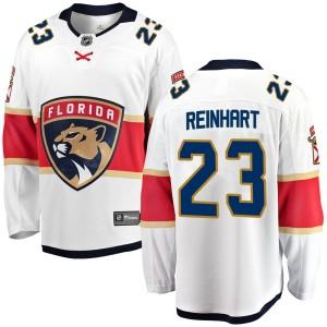 Youth Florida Panthers Sam Reinhart Fanatics Branded Breakaway Away Jersey - White