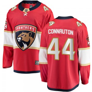 Youth Florida Panthers Kevin Connauton Fanatics Branded Breakaway Home Jersey - Red