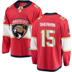Youth Florida Panthers Riley Sheahan Fanatics Branded Breakaway Home Jersey - Red