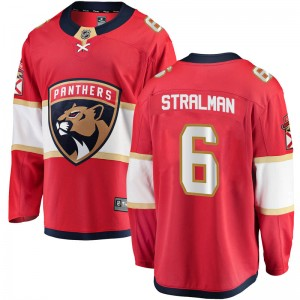 Youth Florida Panthers Anton Stralman Fanatics Branded Breakaway Home Jersey - Red