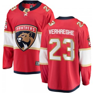 Youth Florida Panthers Carter Verhaeghe Fanatics Branded Breakaway Home Jersey - Red