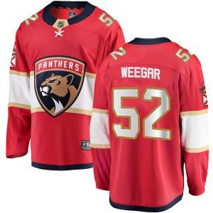 Youth Florida Panthers MacKenzie Weegar Fanatics Branded Breakaway Home Jersey - Red