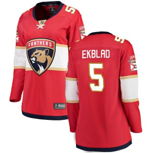 Women's Florida Panthers Aaron Ekblad Fanatics Branded Breakaway Home Jersey - Red