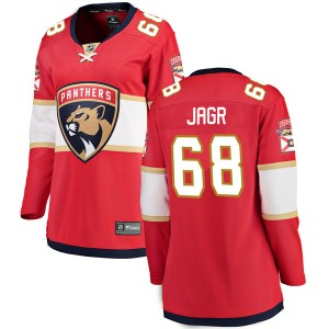 Women's Florida Panthers Jaromir Jagr Fanatics Branded Breakaway Home Jersey - Red