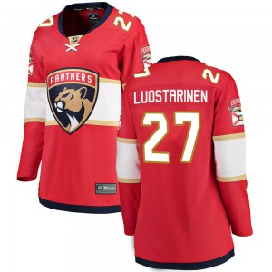 Women's Florida Panthers Eetu Luostarinen Fanatics Branded ized Breakaway Home Jersey - Red