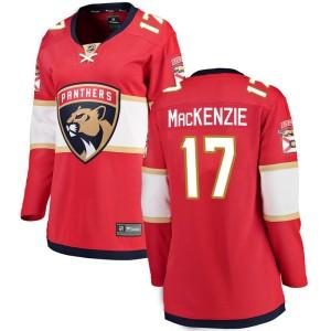 Women's Florida Panthers Derek Mackenzie Fanatics Branded Breakaway Home Jersey - Red