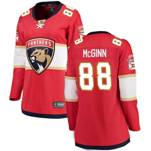 Women's Florida Panthers Jamie McGinn Fanatics Branded Breakaway Home Jersey - Red