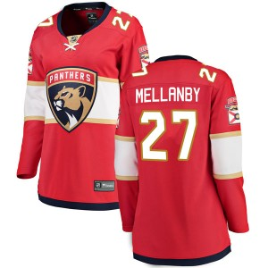 Women's Florida Panthers Scott Mellanby Fanatics Branded Breakaway Home Jersey - Red