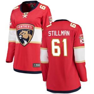 Women's Florida Panthers Riley Stillman Fanatics Branded Breakaway Home Jersey - Red