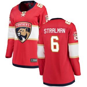 Women's Florida Panthers Anton Stralman Fanatics Branded Breakaway Home Jersey - Red
