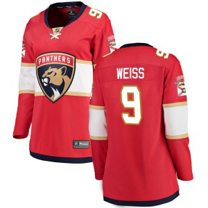 Women's Florida Panthers Stephen Weiss Fanatics Branded Breakaway Home Jersey - Red