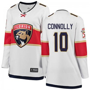 Women's Florida Panthers Brett Connolly Fanatics Branded Breakaway Away Jersey - White