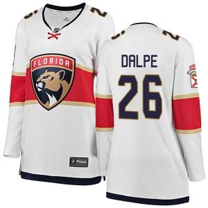 Women's Florida Panthers Zac Dalpe Fanatics Branded Breakaway Away Jersey - White