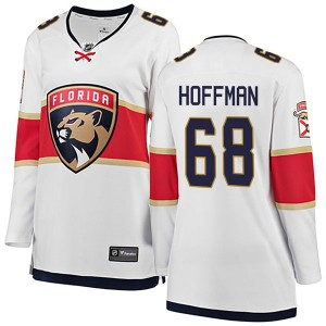 Women's Florida Panthers Mike Hoffman Fanatics Branded Breakaway Away Jersey - White