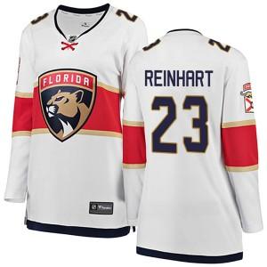 Women's Florida Panthers Sam Reinhart Fanatics Branded Breakaway Away Jersey - White