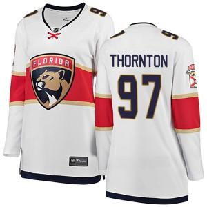 Women's Florida Panthers Joe Thornton Fanatics Branded Breakaway Away Jersey - White