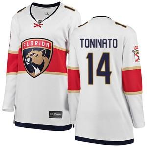 Women's Florida Panthers Dominic Toninato Fanatics Branded Breakaway Away Jersey - White