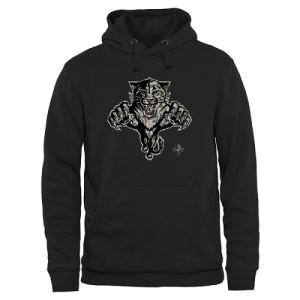 Men's Florida Panthers Rink Warrior Pullover Hoodie - Black