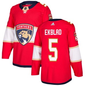 Men's Florida Panthers Aaron Ekblad Adidas Authentic Jersey - Red