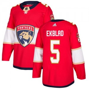 Youth Florida Panthers Aaron Ekblad Adidas Authentic Home Jersey - Red