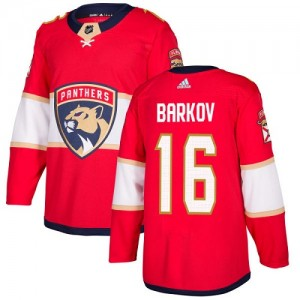 Youth Florida Panthers Aleksander Barkov Adidas Authentic Home Jersey - Red