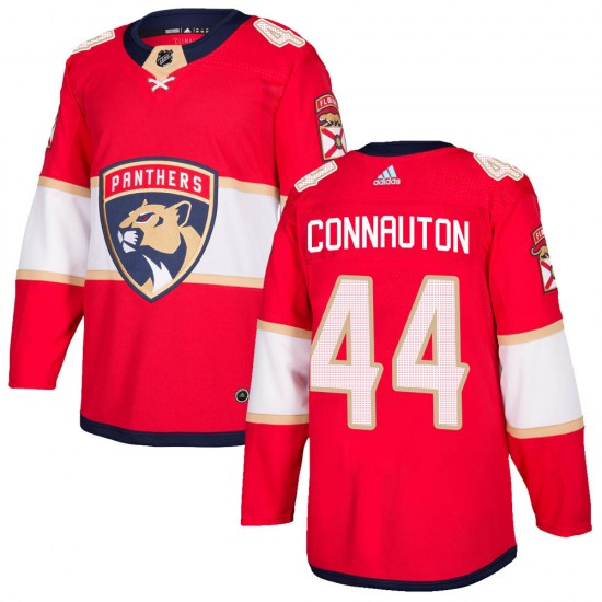 Youth Florida Panthers Kevin Connauton Adidas Authentic Home Jersey - Red