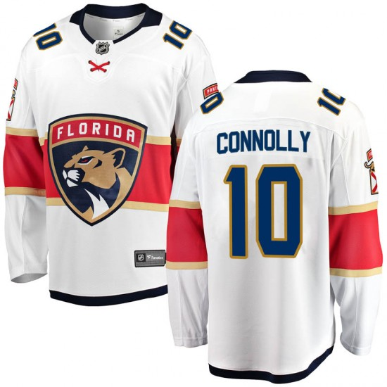 Youth Florida Panthers Brett Connolly Fanatics Branded Breakaway Away Jersey - White