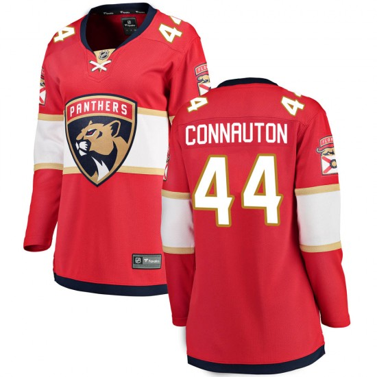 Women's Florida Panthers Kevin Connauton Fanatics Branded Breakaway Home Jersey - Red