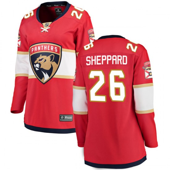 Women's Florida Panthers Ray Sheppard Fanatics Branded Breakaway Home Jersey - Red